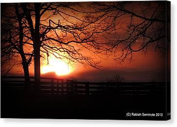 Morning Sunrise Canvas Print