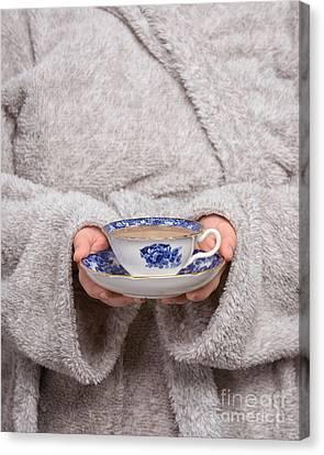 Morning Tea Canvas Print