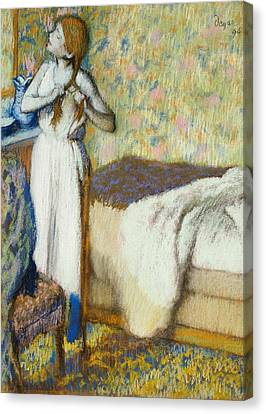 Morning Toilet Canvas Print by Edgar Degas