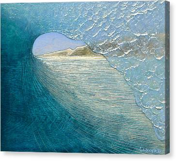 Morning View Canvas Print by Nathan Ledyard