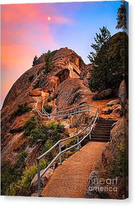 Moro Rock Path Canvas Print