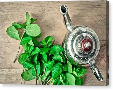 Moroccan Tea Canvas Print by Tom Gowanlock
