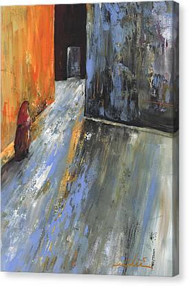 Moroccan Woman 01 Canvas Print