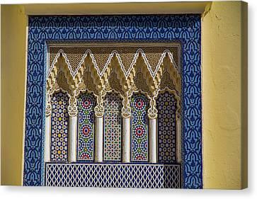 Morocco, Fes Medina Canvas Print