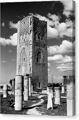 Morocco Hassan Tower Canvas Print