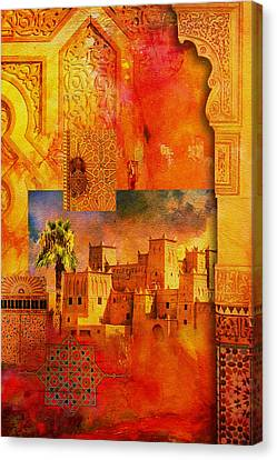 Morocco Heritage Poster 00 Canvas Print