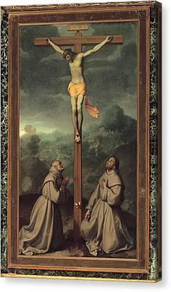 Moroni Giovan Battista, Crucifix Canvas Print by Everett