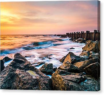 Morris Island Dream Canvas Print by Steve DuPree