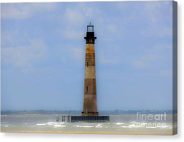 Canvas Print featuring the photograph Sand Sea And Whimsey by Dale Powell
