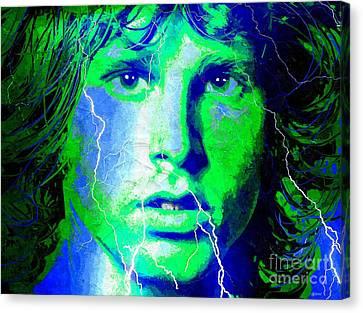 Morrison Storm Canvas Print by Daniel Janda