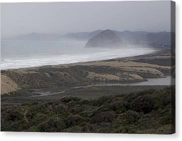 Morro Bay - Morro Rock 1 Canvas Print