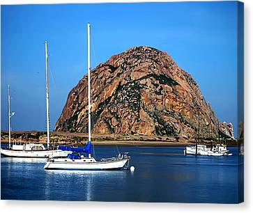 Morro Bay Canvas Print by Camille Lopez