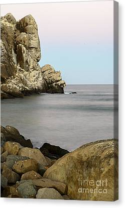 Canvas Print featuring the photograph Morro Bay Morning 2 by Terry Garvin