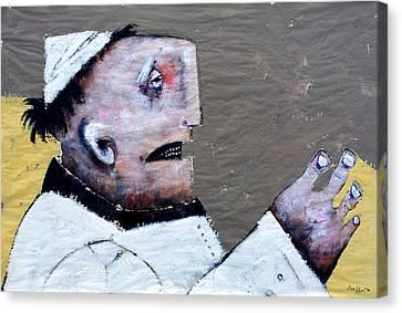 Mortalis No. 14 Canvas Print by Mark M  Mellon