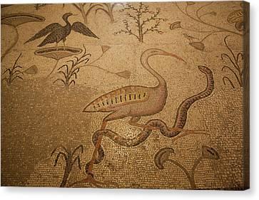 Mosaic Floor, Church Canvas Print