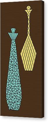Mosaics 1 Canvas Print by Donna Mibus