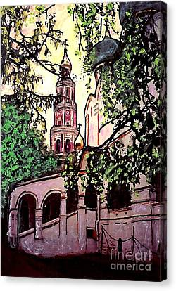 Moscow Church Canvas Print by Sarah Loft