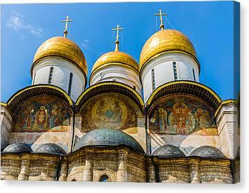 Moscow Kremlin Tour - 38 Of 70 Canvas Print by Alexander Senin