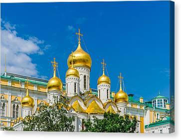 Moscow Kremlin Tour - 47 Of 70 Canvas Print by Alexander Senin