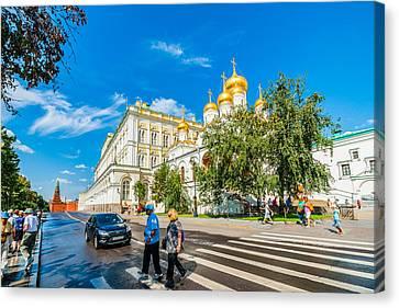 Moscow Kremlin Tour - 52 Of 70 Canvas Print by Alexander Senin