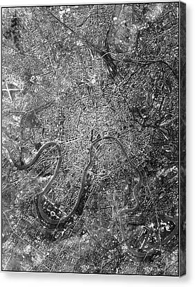 Moscow Canvas Print by National Reconnaissance Office