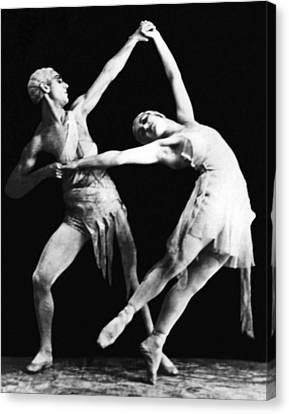 Ballet Dancers Canvas Print - Moscow Opera Ballet Dancers by Underwood Archives