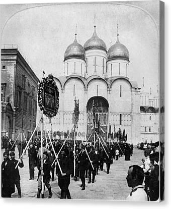 Moscow Procession, C1901 Canvas Print by Granger