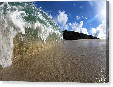 Moses Wave Canvas Print by Sean Davey