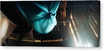 Mosquito Net In A Bungalow, Chiang Mai Canvas Print by Panoramic Images