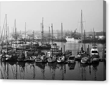 Moss Landing Harbor Canvas Print