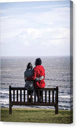Mother And Daughter Canvas Print by Joana Kruse