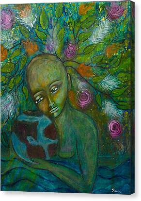 Mother Earth Canvas Print by Havi Mandell