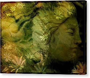 Mother Earth Is Just Awakening Canvas Print by Gun Legler