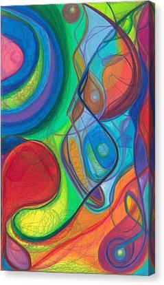 Daina Canvas Print - Mother Earth - Plant Healing - Gaia - Heart Chamber Awakening by Daina White