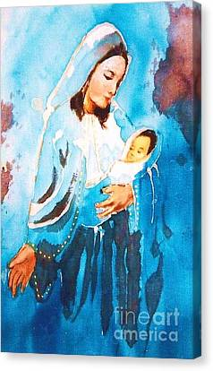 Mother Maria Canvas Print by Rose Wang