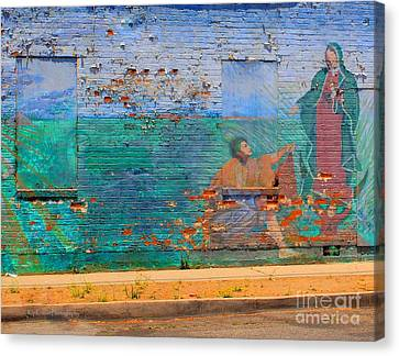 Mother Mary Canvas Print by Kip Krause