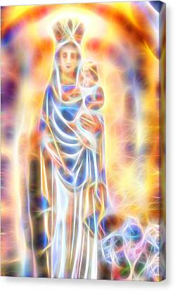 Mother Of Light Canvas Print