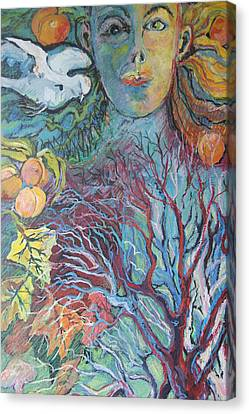 Mother Canvas Print by Susan Brown    Slizys art signature name