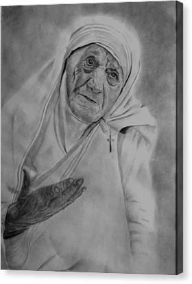Mother Theresa 2 Canvas Print