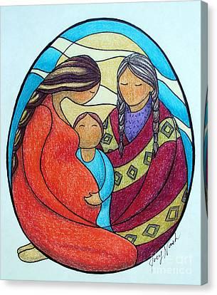 Motherhood Canvas Print by Joey Nash