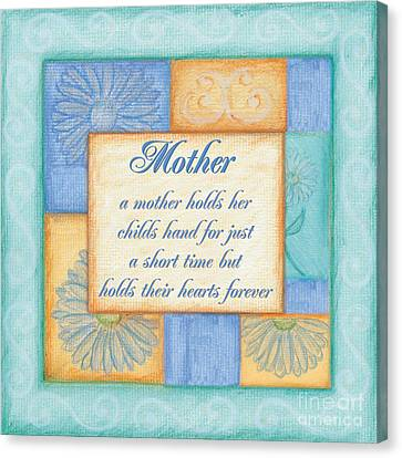 Mother's Day Spa Canvas Print by Debbie DeWitt