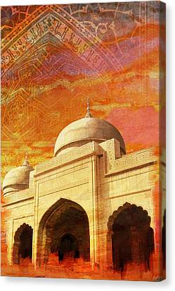 Moti Masjid Canvas Print by Catf