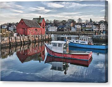 Motif 1 Sky Reflections Canvas Print