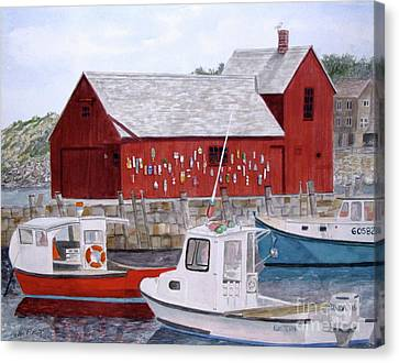 Motif No 1 Canvas Print