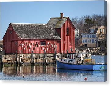 Bouys Canvas Print - Motif Number 1 by Eric Gendron