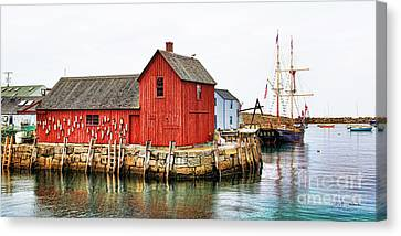 Motif Number 1 Rockport Ma Canvas Print by Jack Schultz