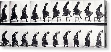 Motion Study Canvas Print by Eadweard Muybridge