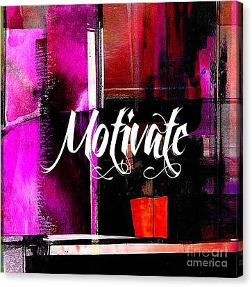 Color Canvas Print - Motivate by Marvin Blaine