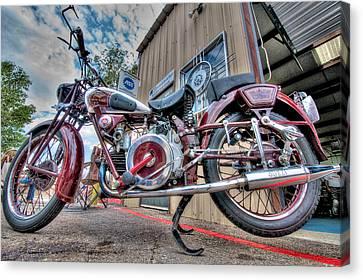 Moto Guzzi Classic Canvas Print