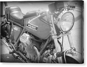 Moto Guzzi I Canvas Print